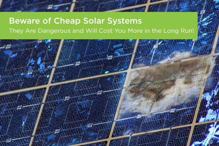 Costly Mistakes People Make When Buying Cheap Solar Systems and How to Avoid Them
