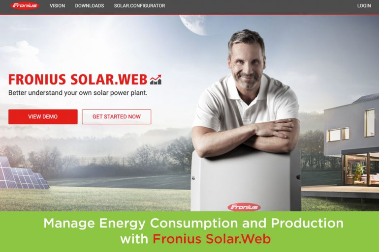 How to Manage Your Energy Consumption & Production with Fronius Solar.Web: Watch